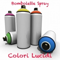 Bombolette Spray -200 Colori Lucidi-