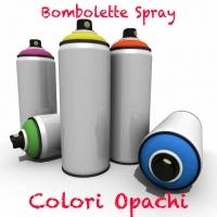 Bombolette Spray -200 Colori Opachi-
